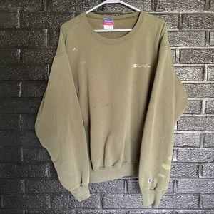 Vintage champion crewneck sweatshirt size large